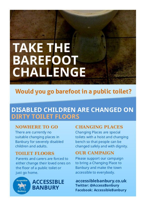 Our campaign to stop children having to be changed on dirty toilet floors