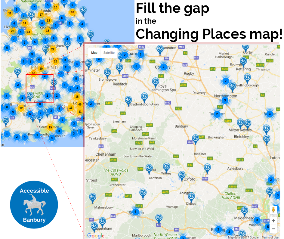 Changing Places map